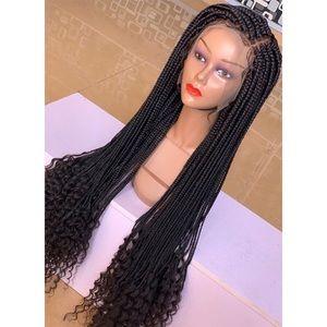 Goddess box braids (full frontal)